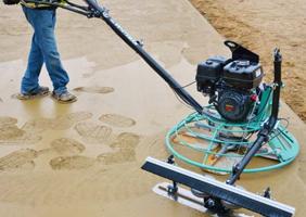 Những lưu ý khi sử dụng Máy xoa nền bê tông